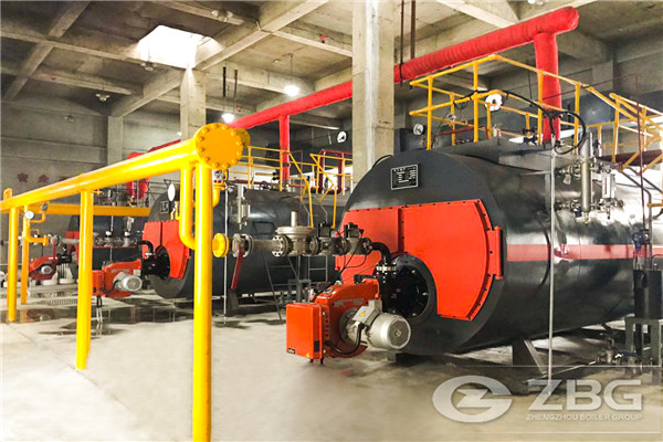 gas heating boiler selection of 16,000 square meters factory +7000 ㎡office dormitory