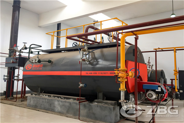 Horizontal style steam boiler,low pressure boiler for sale,gas steam ...